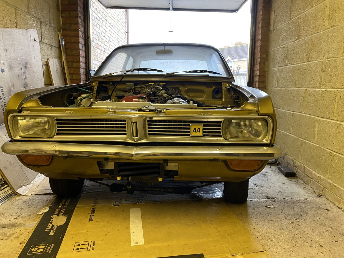 1973 Vauxhall Viva HC '73 2.0L project For Sale (picture 1 of 3)