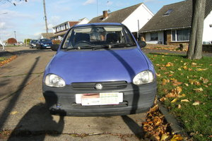 1993 vauxhall corsa 1.2, low road tax.