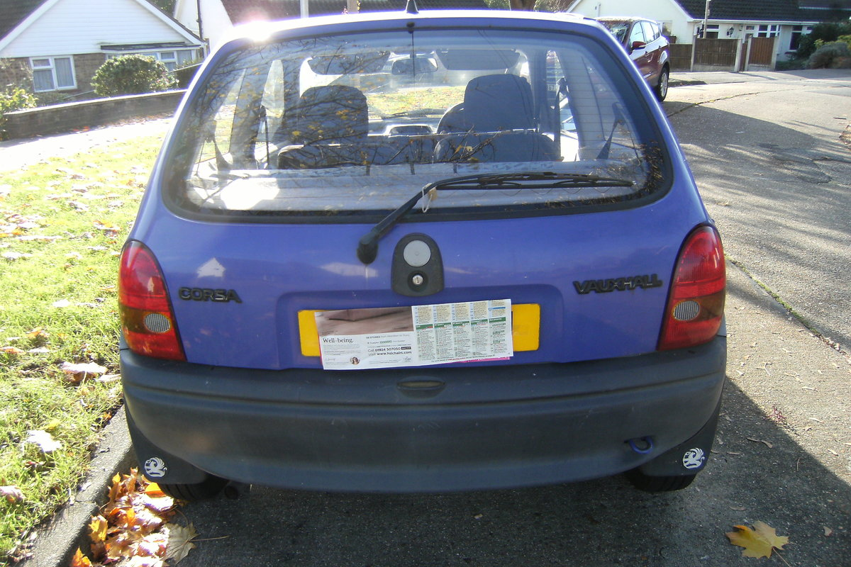 1993 vauxhall corsa 1.2, low road tax. For Sale (picture 4 of 4)
