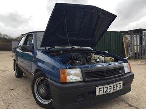 1988 Vauxhall Nova Sr GTE REP 12 months MOT