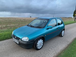 1995 Vauxhall Corsa SRI 16V SOLD by Auction