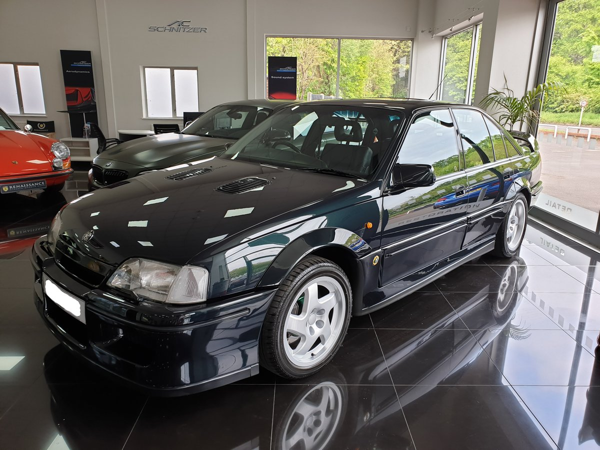 1991 Enthusiast Owned Lotus Carlton For Sale (picture 1 of 6)