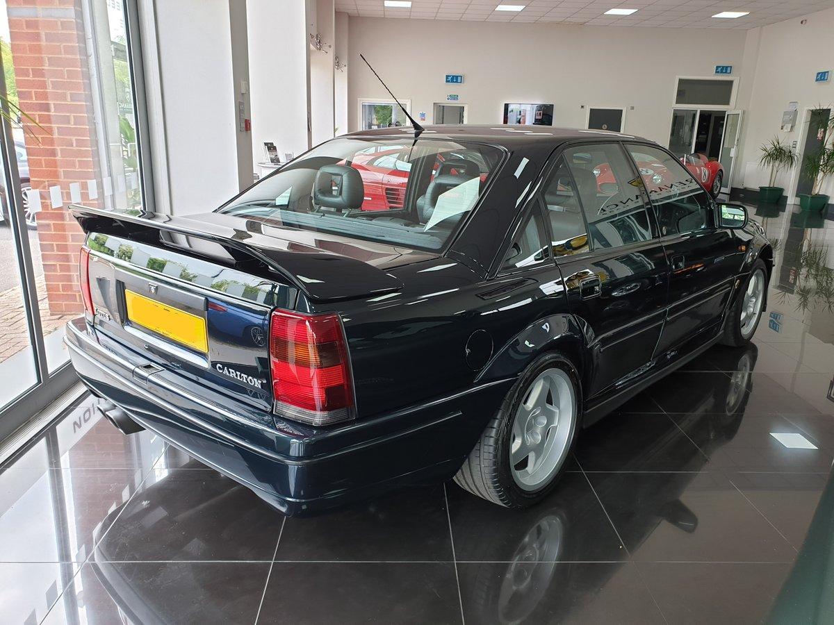 1991 Enthusiast Owned Lotus Carlton For Sale (picture 4 of 6)