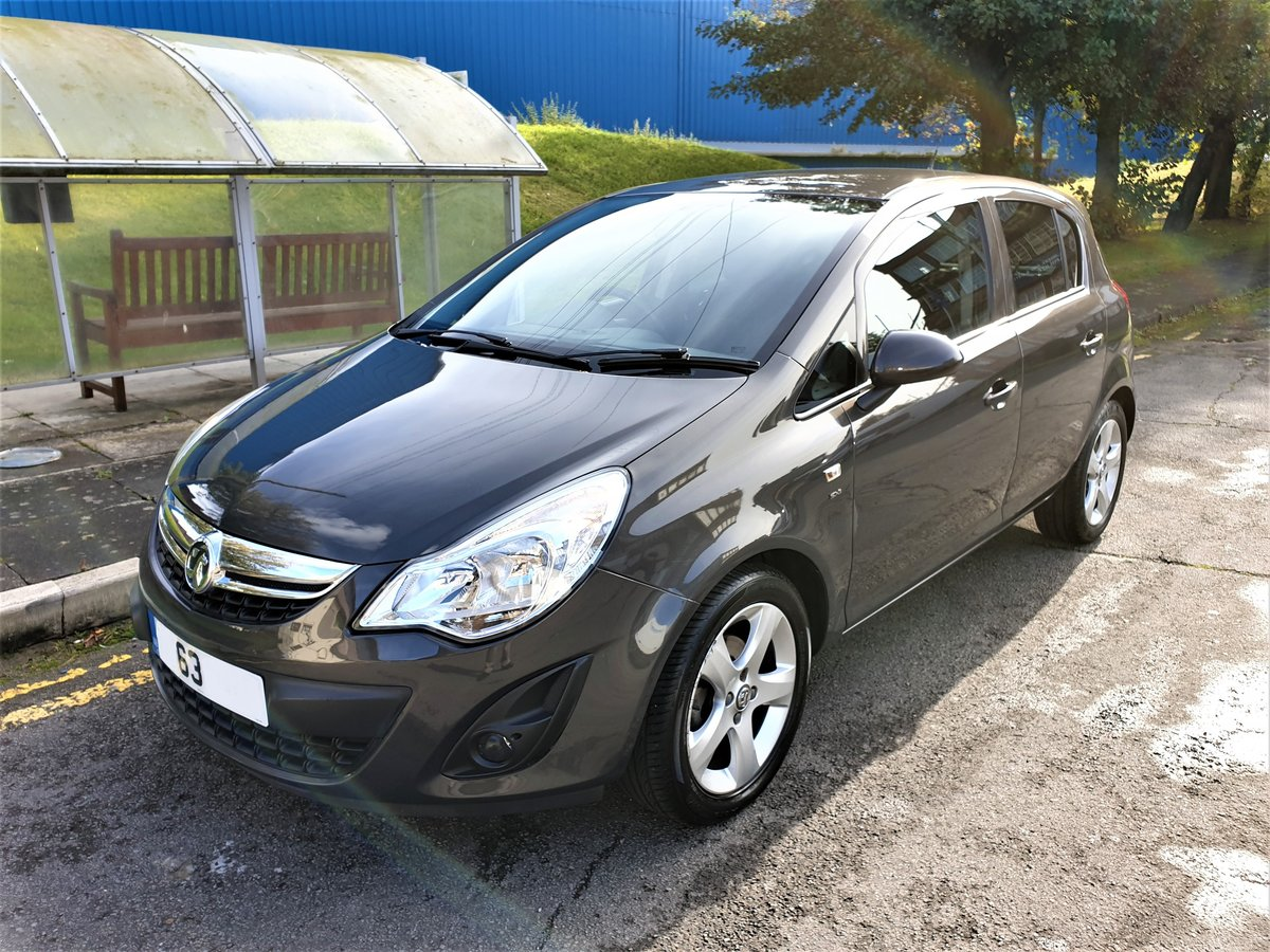 2014 VAUXHALL CORSA 1.2 SXI ONLY 29,900 MILES, LOW TAX & INS For Sale (picture 1 of 6)