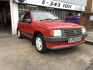Classic 1987 Vauxhall Nova 31806 original miles