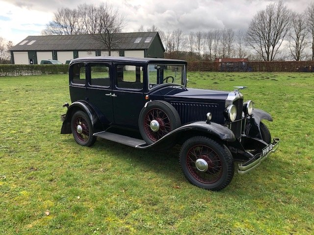 1929 Vauxhall 20/60 T-Type Richmond Saloon For Sale (picture 1 of 6)