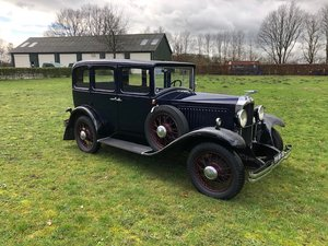 1929 Vauxhall 20/60 T-Type Richmond Saloon For Sale