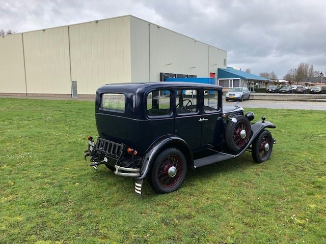 1929 Vauxhall 20/60 T-Type Richmond Saloon For Sale (picture 3 of 6)