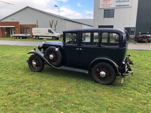 1929 Vauxhall 20/60 T-Type Richmond Saloon For Sale (picture 4 of 6)