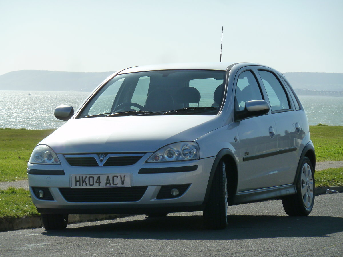 2004 CORSA 1.2 16v SXi 5DR LOW MILEAGE PERFECT FIRST CAR LONG MOT For Sale (picture 6 of 6)