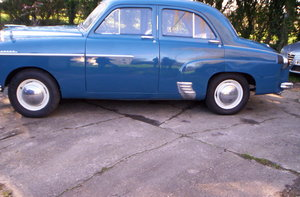 1954 vauxhall velox  very solid example