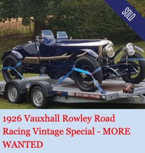 1926 Vauxhall 30-98 Special : The Rowley