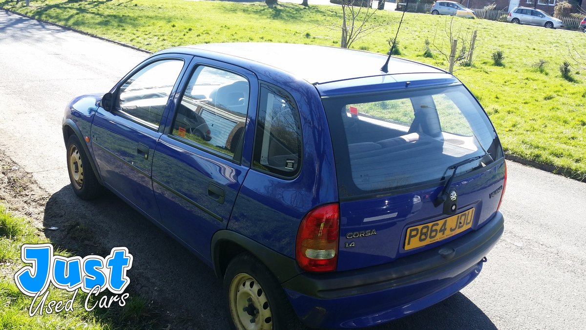 1996 Vauxhall Corsa 1.4 LS Auto P Reg  (Classic Mk1 For Sale (picture 4 of 6)