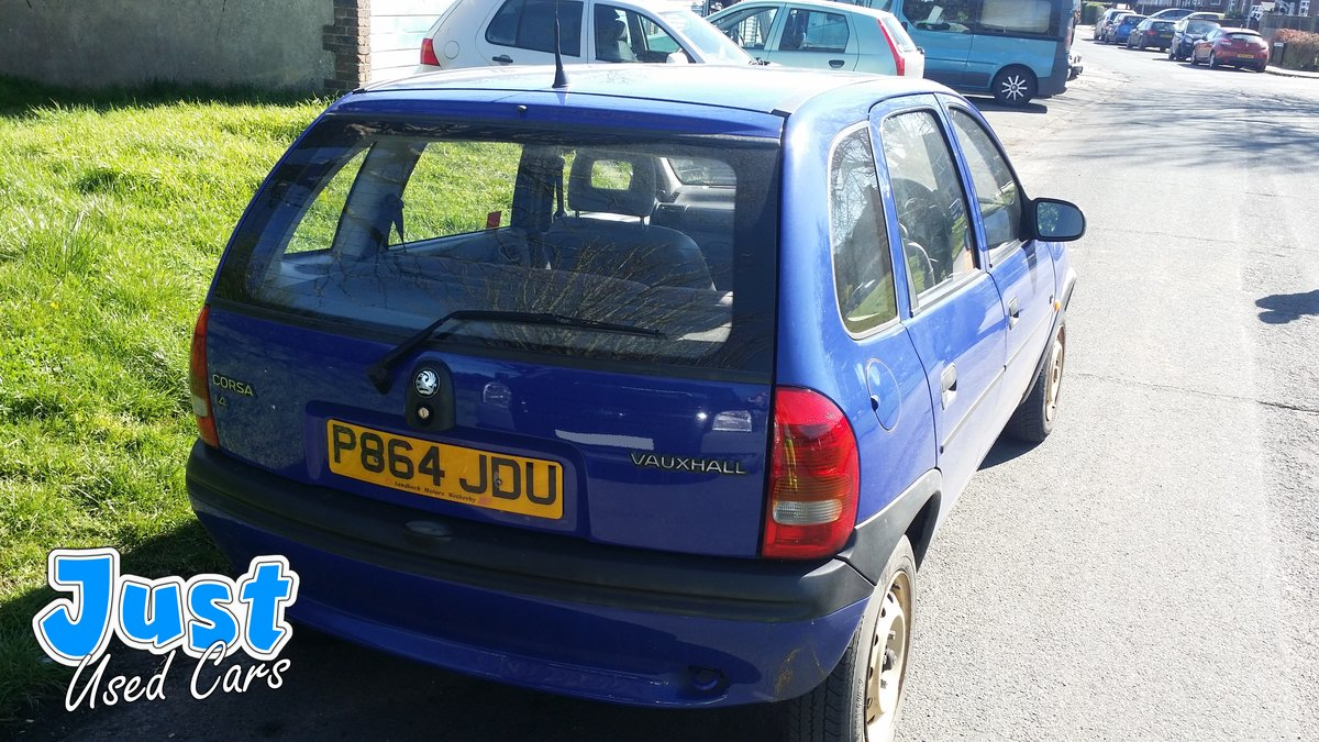 1996 Vauxhall Corsa 1.4 LS Auto P Reg  (Classic Mk1 For Sale (picture 5 of 6)