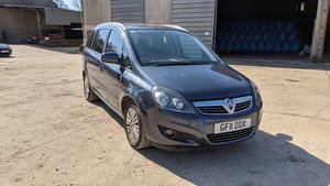 2011 Vauxhall zafira (a3370) excite #138
