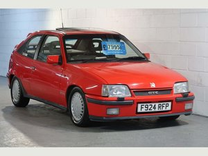 1989  Vauxhall Astra GTE 16v 2.0i SFi RED TOP