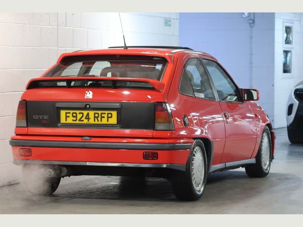 1989 Vauxhall Astra GTE 16v 2.0i SFi RED TOP For Sale (picture 2 of 6)