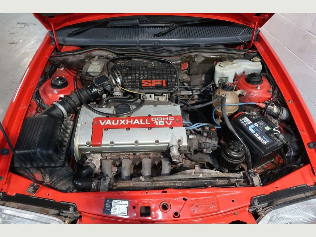 1989 Vauxhall Astra GTE 16v 2.0i SFi RED TOP For Sale (picture 4 of 6)