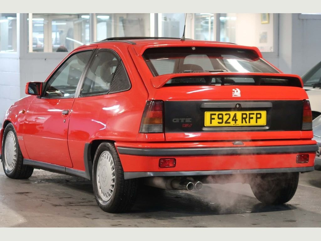 1989 Vauxhall Astra GTE 16v 2.0i SFi RED TOP For Sale (picture 5 of 6)