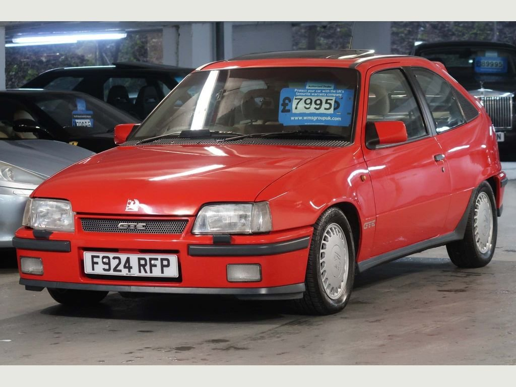 1989 Vauxhall Astra GTE 16v 2.0i SFi RED TOP For Sale (picture 6 of 6)