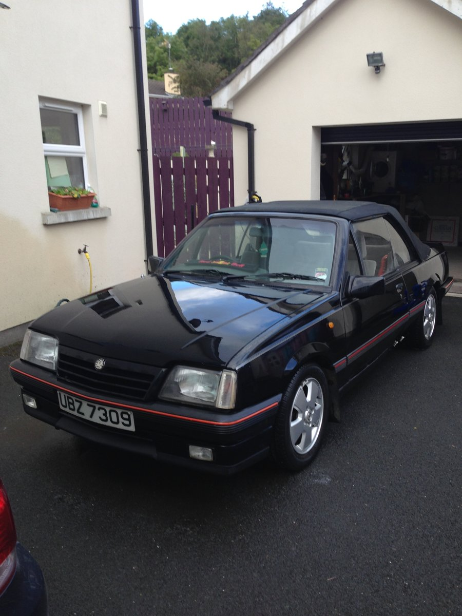 1987 Vauxhall convertable SOLD (picture 1 of 6)