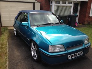 1992 Vauxhall Astra Cabrio Bertone limited edition152