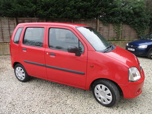 2006 Vauxhall Agila 1.0 Expression Estate One Owner Red