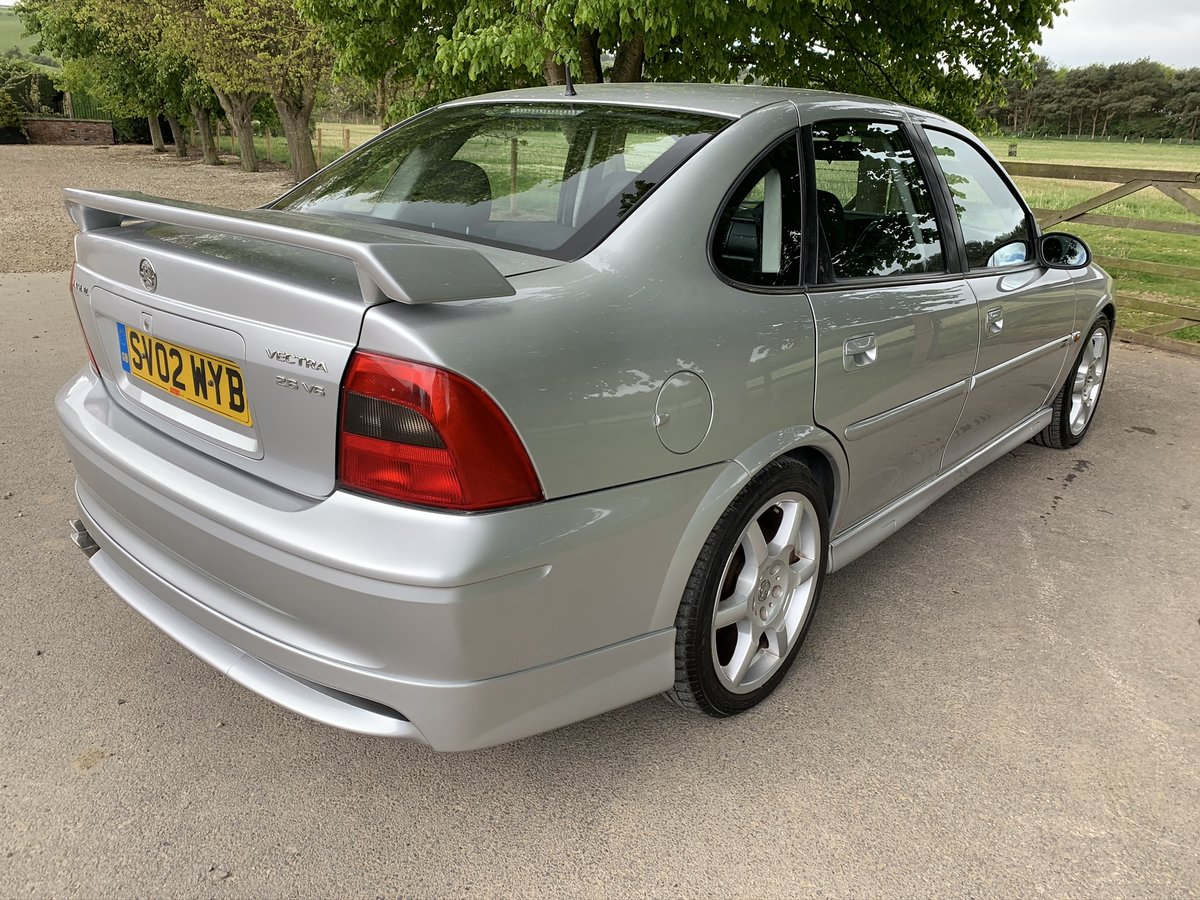 2002 Vauxhall vectra gsi 2.6 v6 low mileage For Sale (picture 5 of 6)