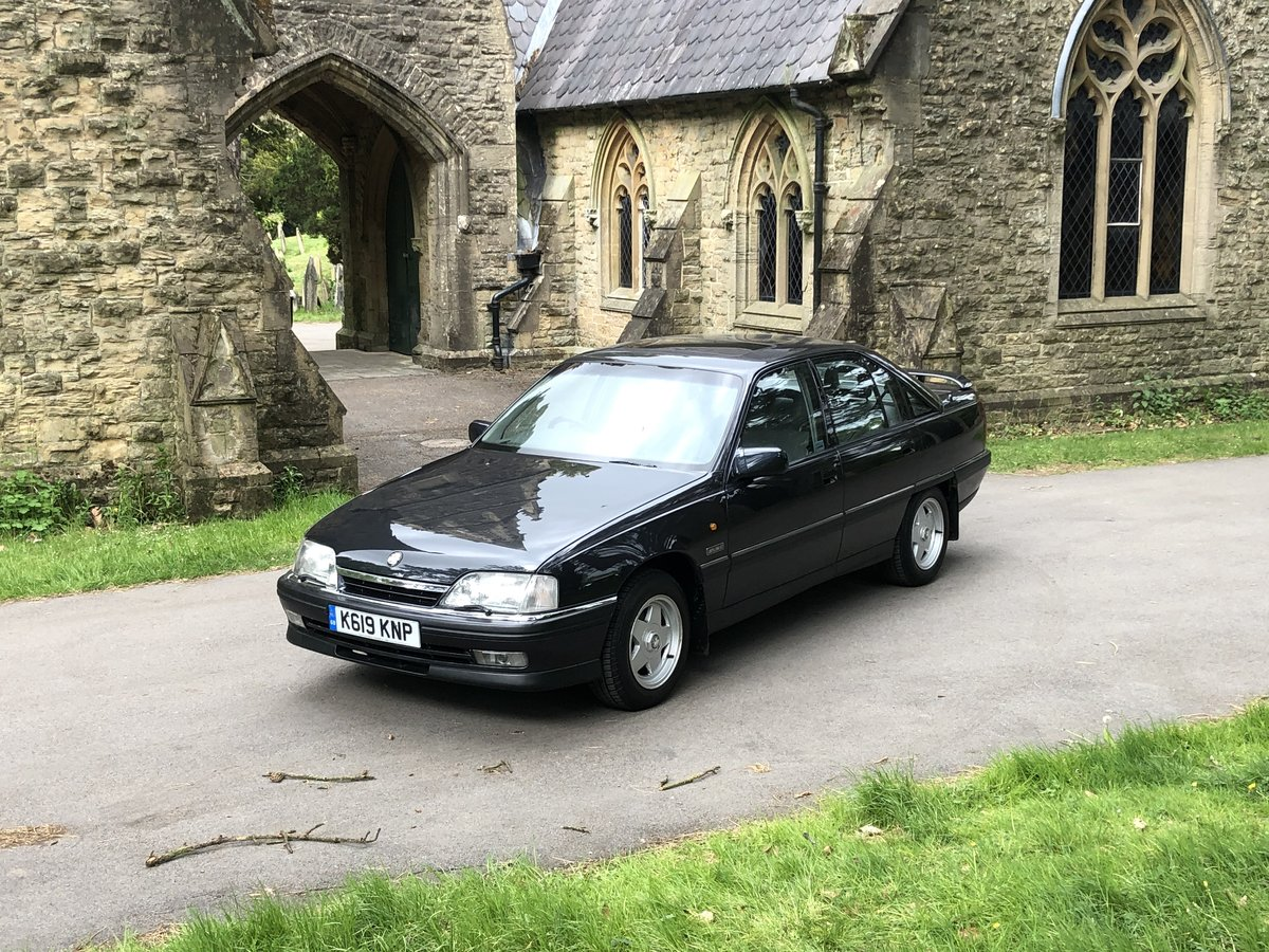 1992 VAUXHALL CARLTON DIPLOMAT 2.0 I AUTO RARE CAR For Sale (picture 1 of 6)