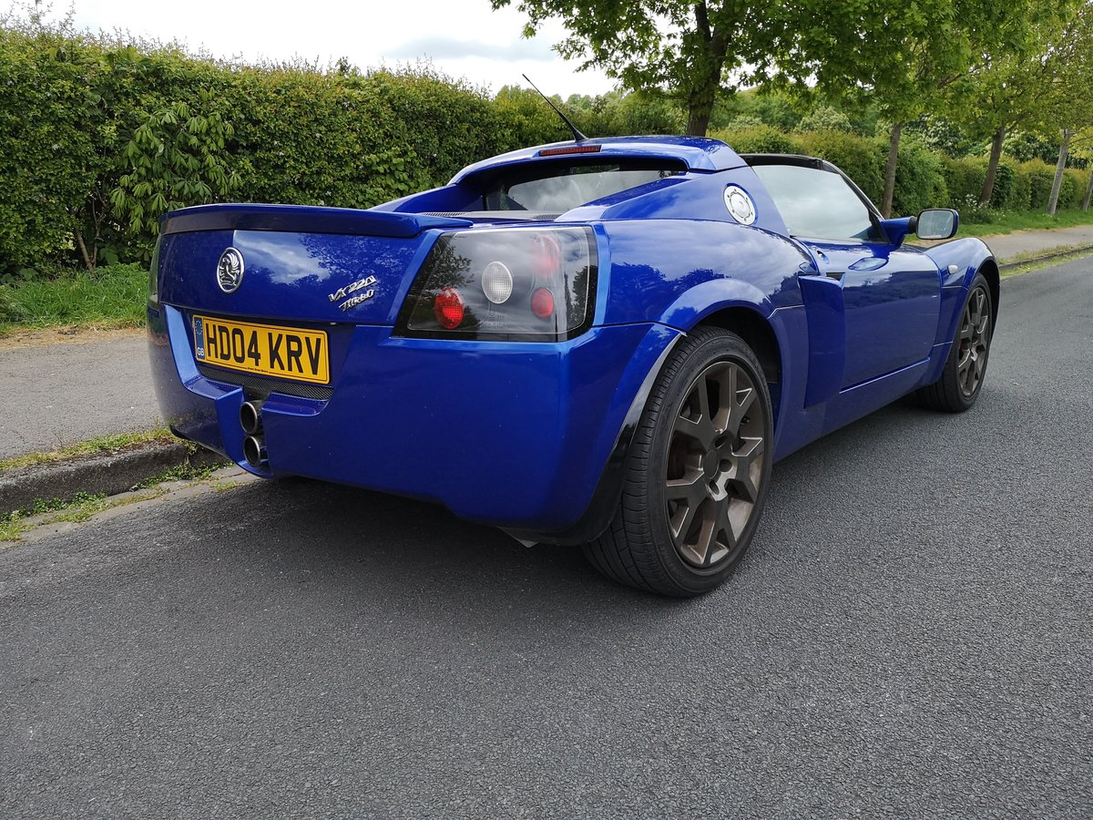 2004 VAUXHALL VX 220 TURBO 32K MILES For Sale (picture 1 of 6)