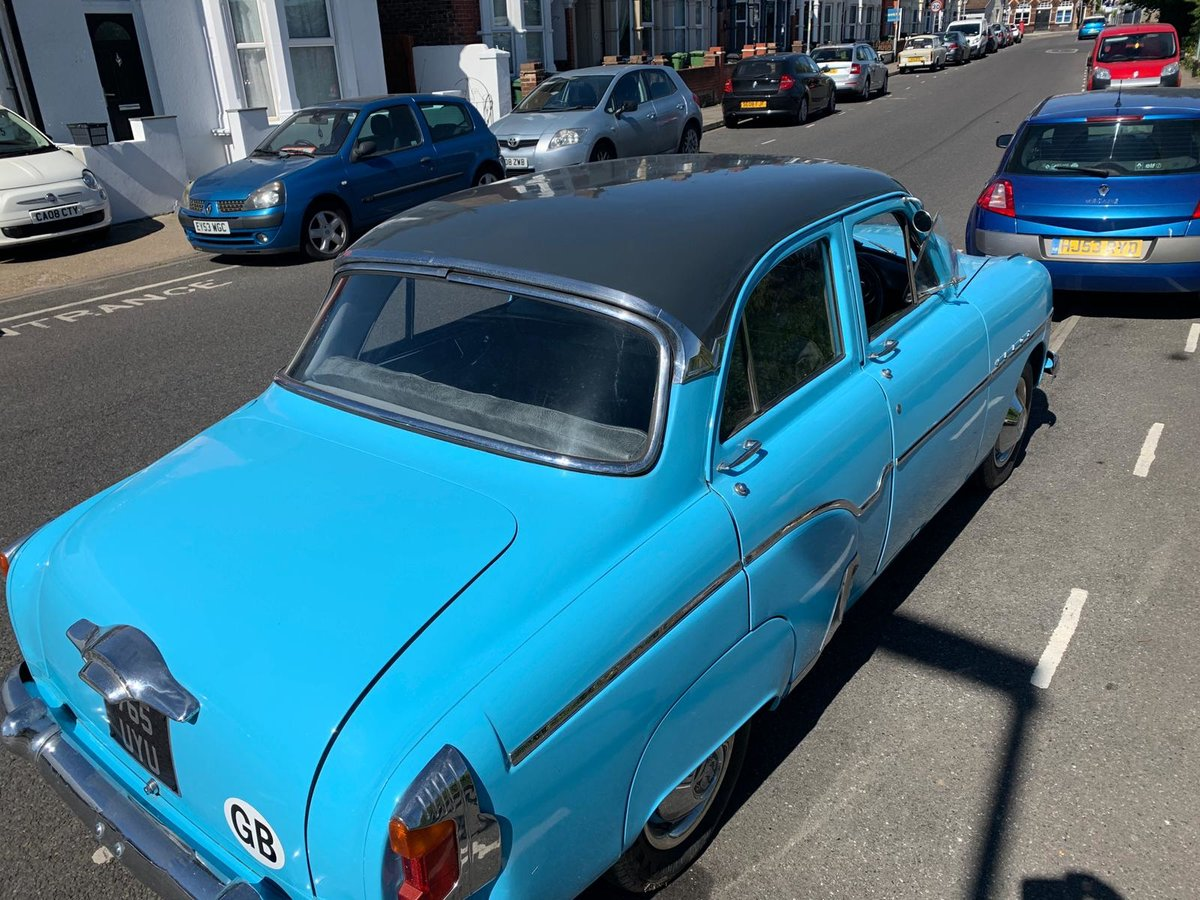 1956 VERY RARE 50's VAUXHALL VELOX For Sale (picture 1 of 6)