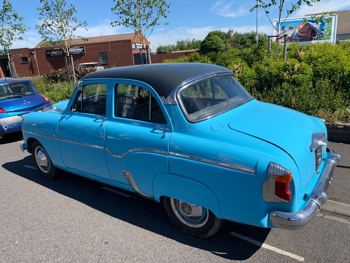 1956 VERY RARE 50's VAUXHALL VELOX For Sale (picture 2 of 6)