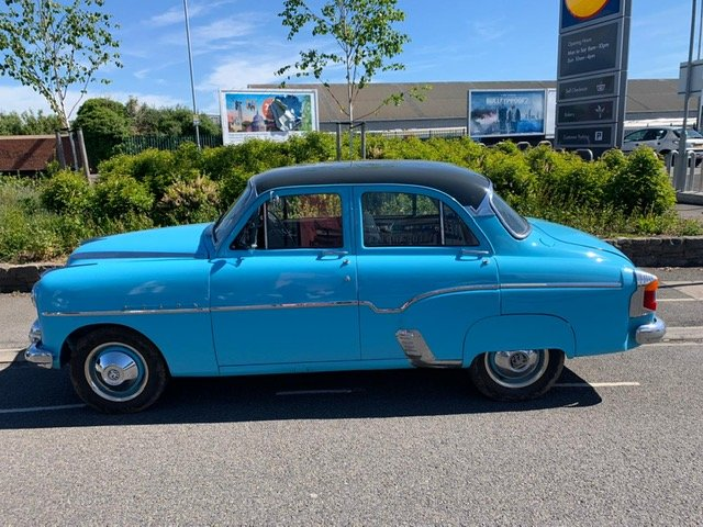 1956 VERY RARE 50's VAUXHALL VELOX For Sale (picture 3 of 6)