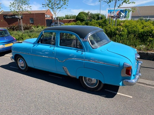1956 VERY RARE 50's VAUXHALL VELOX For Sale (picture 6 of 6)