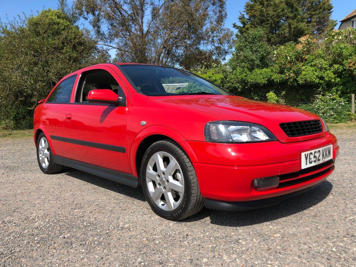 2002 Vauxhall Astra SRi 2.2, FSH, 2Keys, 12Months MOT For Sale (picture 1 of 6)