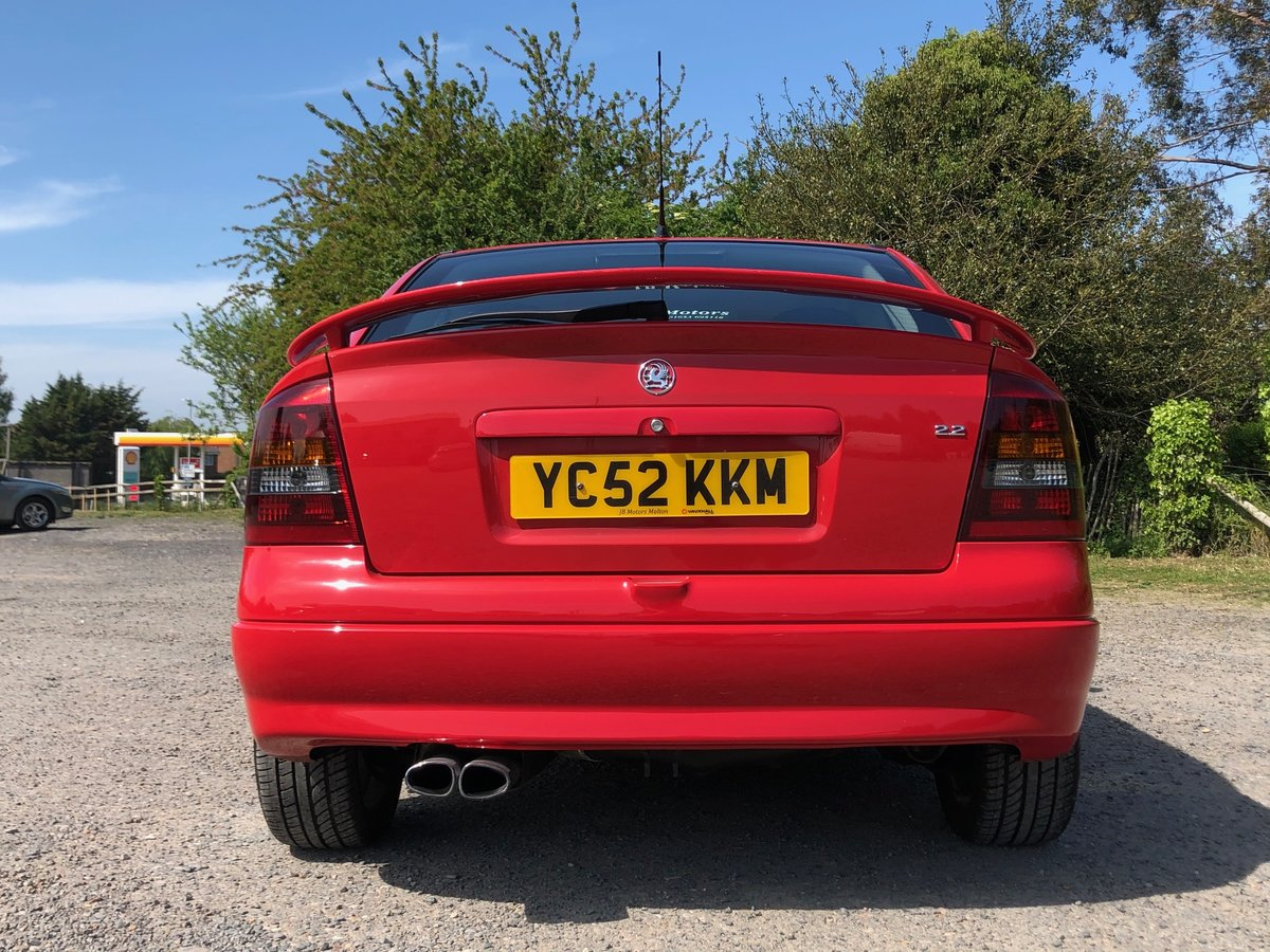 2002 Vauxhall Astra SRi 2.2, FSH, 2Keys, 12Months MOT For Sale (picture 2 of 6)