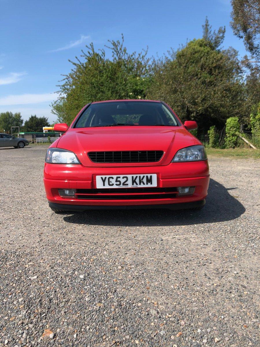 2002 Vauxhall Astra SRi 2.2, FSH, 2Keys, 12Months MOT For Sale (picture 6 of 6)