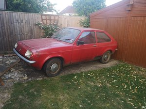 1978 Vauxhall chevette E 3dr   barn stored