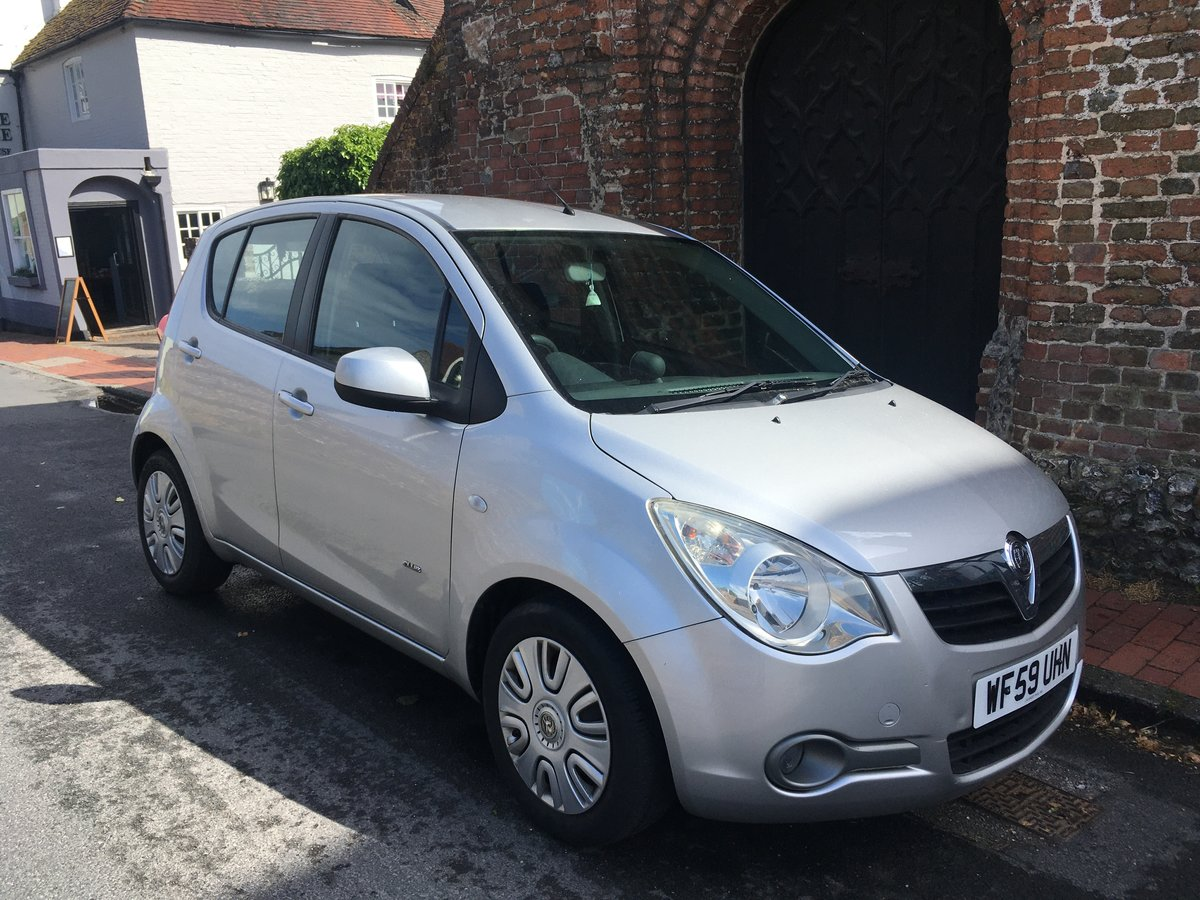 2009 Vauxhall Agila 1.0 SOLD (picture 1 of 6)