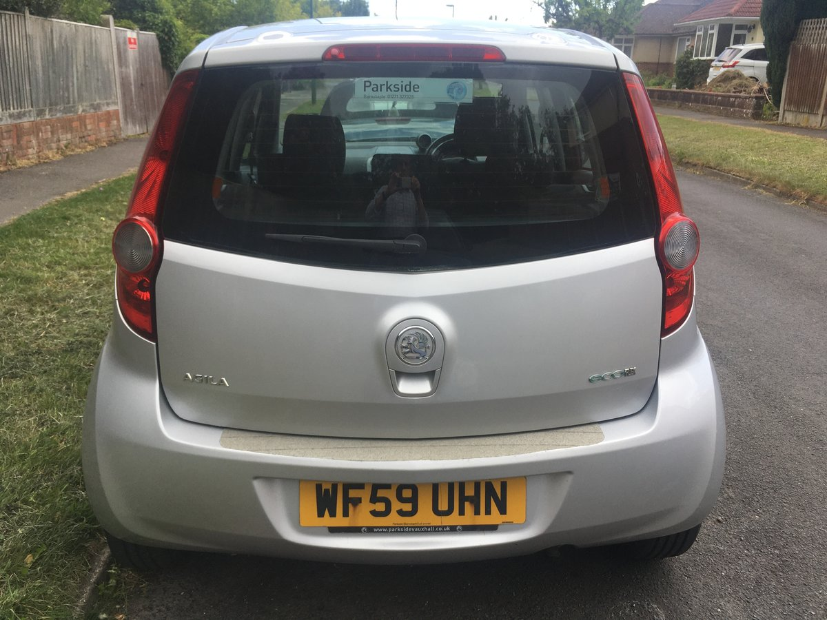 2009 Vauxhall Agila 1.0 SOLD (picture 2 of 6)