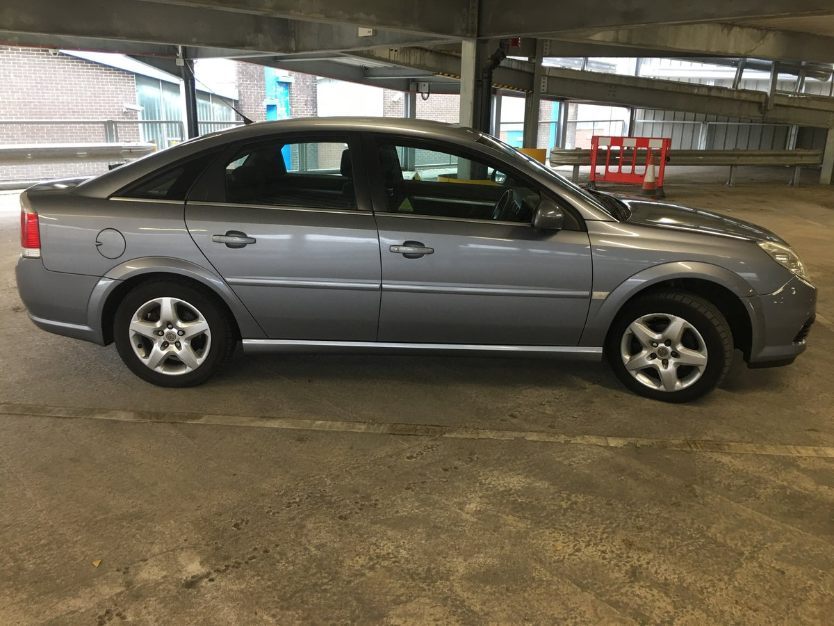 2007 Vauxhall Vectra For Sale (picture 1 of 6)