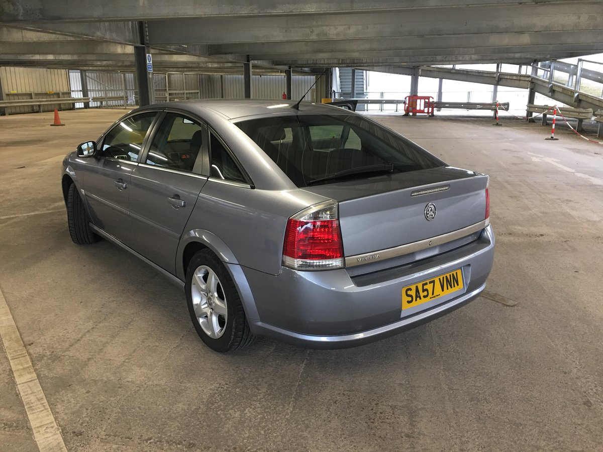 2007 Vauxhall Vectra For Sale (picture 3 of 6)