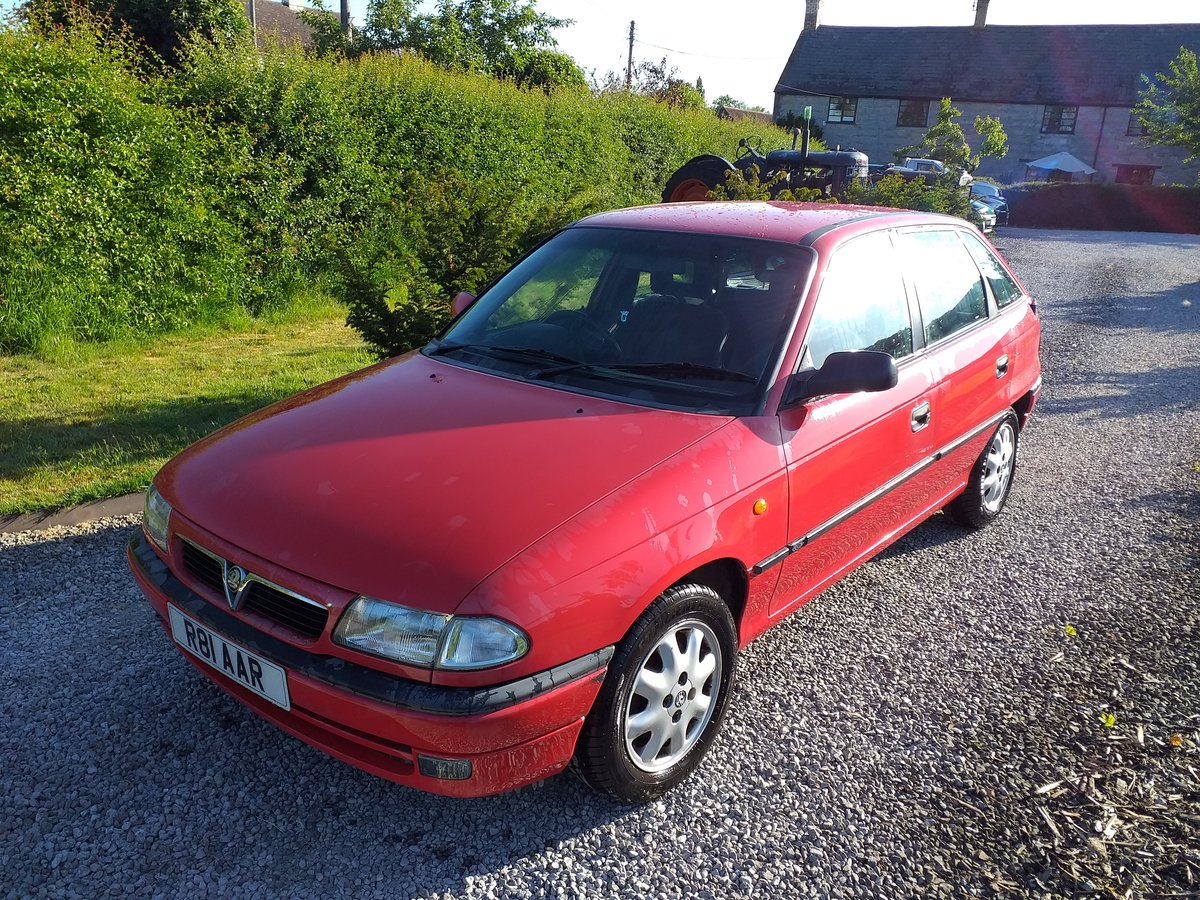 1997 Vauxhall Astra Arctic Mk3  16V For Sale (picture 1 of 6)
