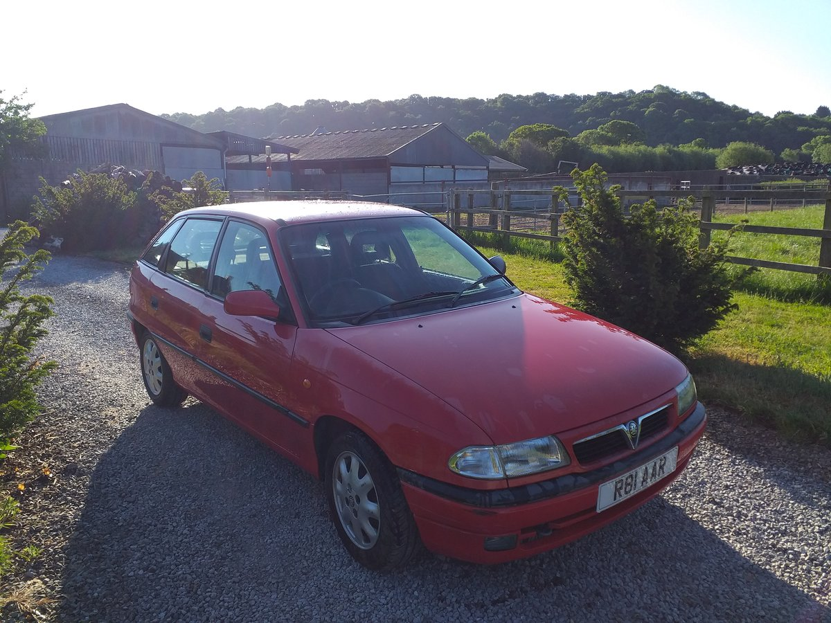 1997 Vauxhall Astra Arctic Mk3  16V For Sale (picture 2 of 6)