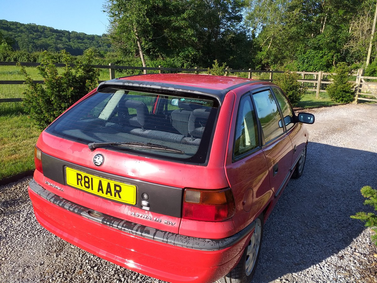 1997 Vauxhall Astra Arctic Mk3  16V For Sale (picture 3 of 6)