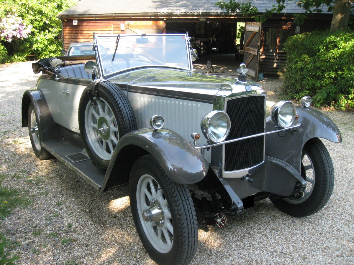 1928 Vauxhall 20/60 Open Tourer For Sale (picture 1 of 6)