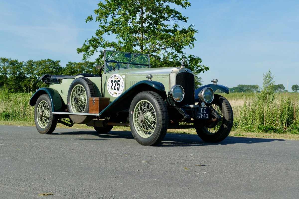 1923 Vauxhall 23/60 Velox Style Sport Tourer For Sale (picture 1 of 6)