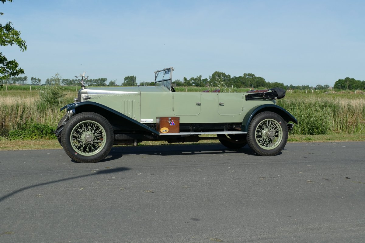 1923 Vauxhall 23/60 Velox Style Sport Tourer For Sale (picture 3 of 6)