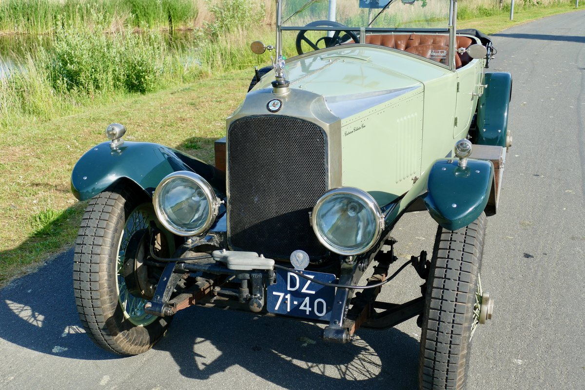 1923 Vauxhall 23/60 Velox Style Sport Tourer For Sale (picture 4 of 6)