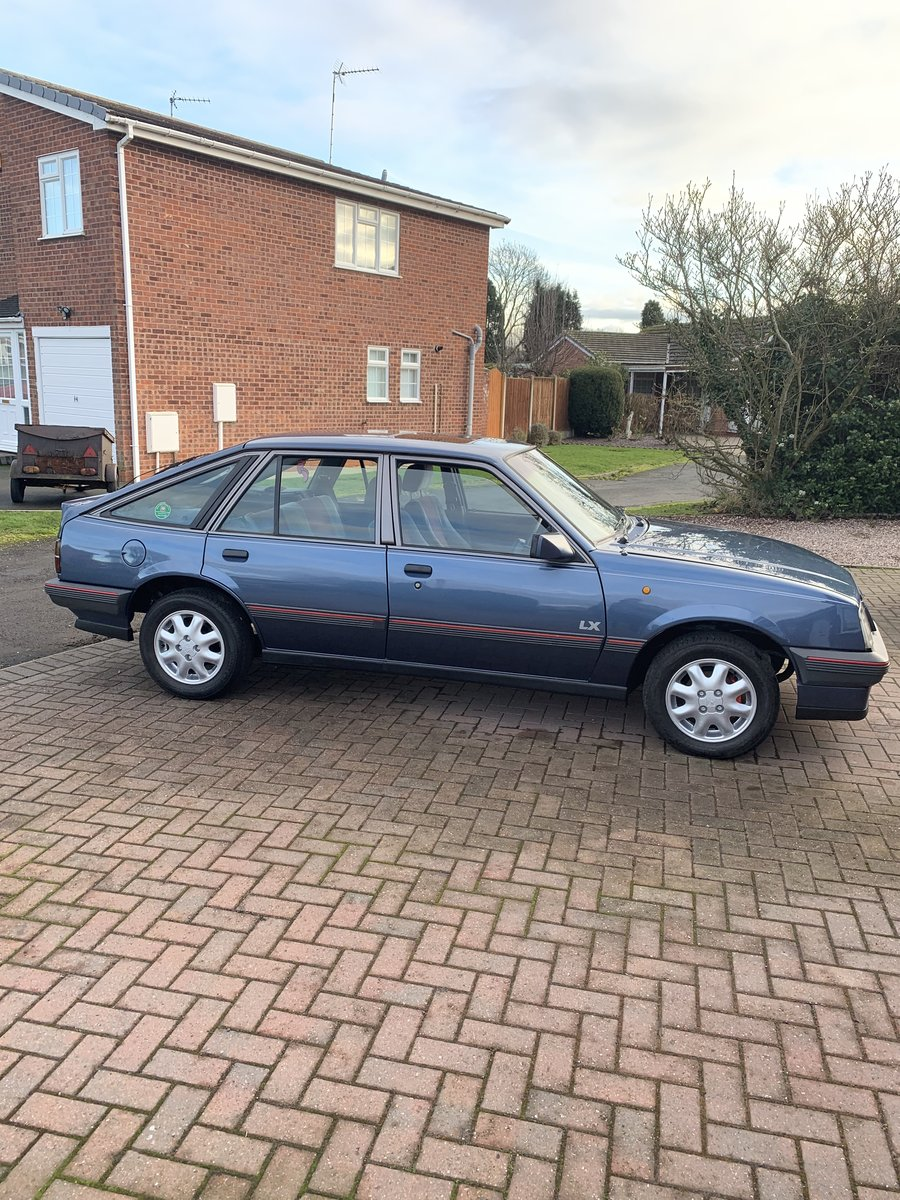 1988 Vauxhall cavalier mk2 LX 1.6 SOLD (picture 1 of 6)